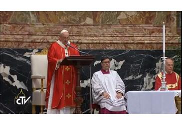 Ricordare i cardinali e vescovi deceduti nell ultimo anno significa pregare  perché trovino in Dio la gioia piena nella comunione dei Santi 290e9026b2d9